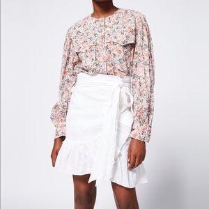 Isabel Marant Étoile wrap Emi shirt
